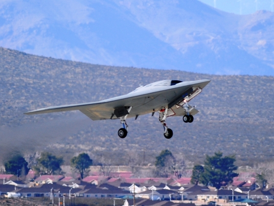 X-47B. Northrop photo.