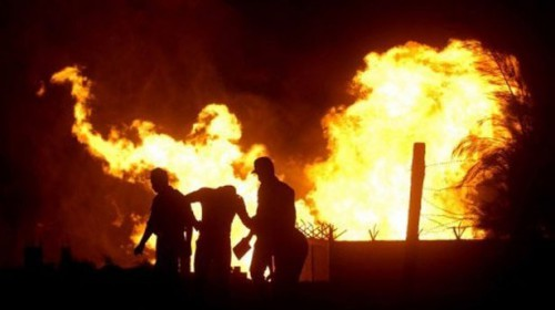 File-picture-of-a-fire-at-al-Arish-in-the-north-of-the-Sinai-peninsula-following-an-attack-on-a-gas-pipeline-AFP