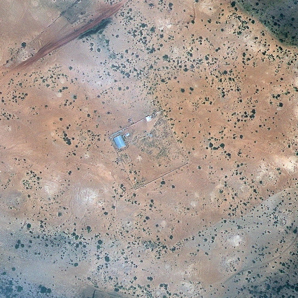 A structure in Gao, northern Mali, on Sept. 27, 2012.
