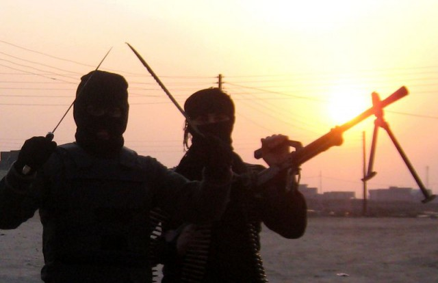 Unidentified Iraqi militants.