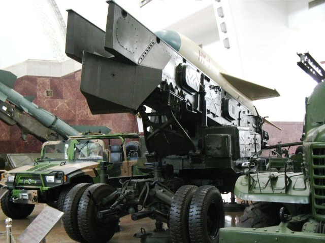 HY-1 launch vehicle in the Beijing Military Museum.