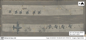 OSIMINT (07MAY13) Minhad Air Base UK UAE Fighters
