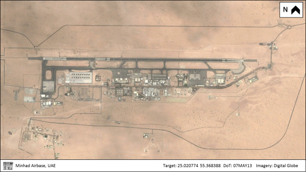 OSIMINT (07MAY13) Minhad Airbase, UAE Overview