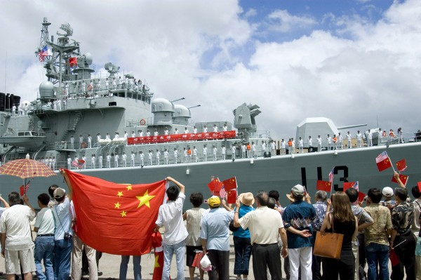 Chinese destroyer Qingdao at Pearl Harbor, Hawaii on Sept. 6, 2006 (U.S. Navy photo).