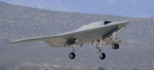 X-47B. Northrop Grumman photo.
