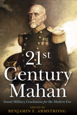 The cover of Armstrong's book shows Admiral Alfred Thayer Mahan.