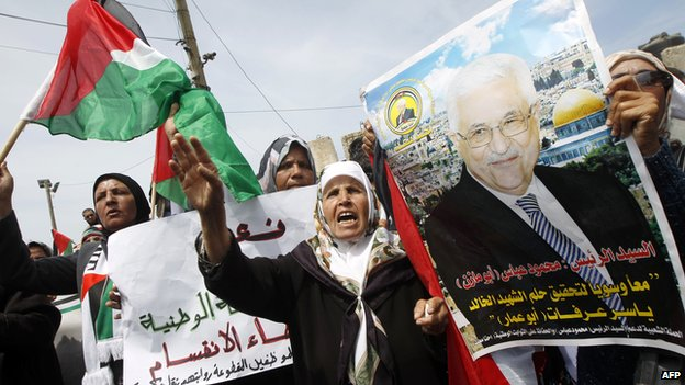 The reconciliation deal between Hams and Fatah was welcomed with celebrations by Palestinians in Gaza City.