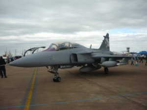 Saab Gripen NG Demonstrator 39-7 at RIAT 2010