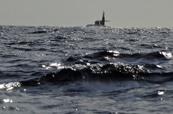 Ohio-class guided-missile submarine USS Florida (SSGN 728; Source: US Navy).