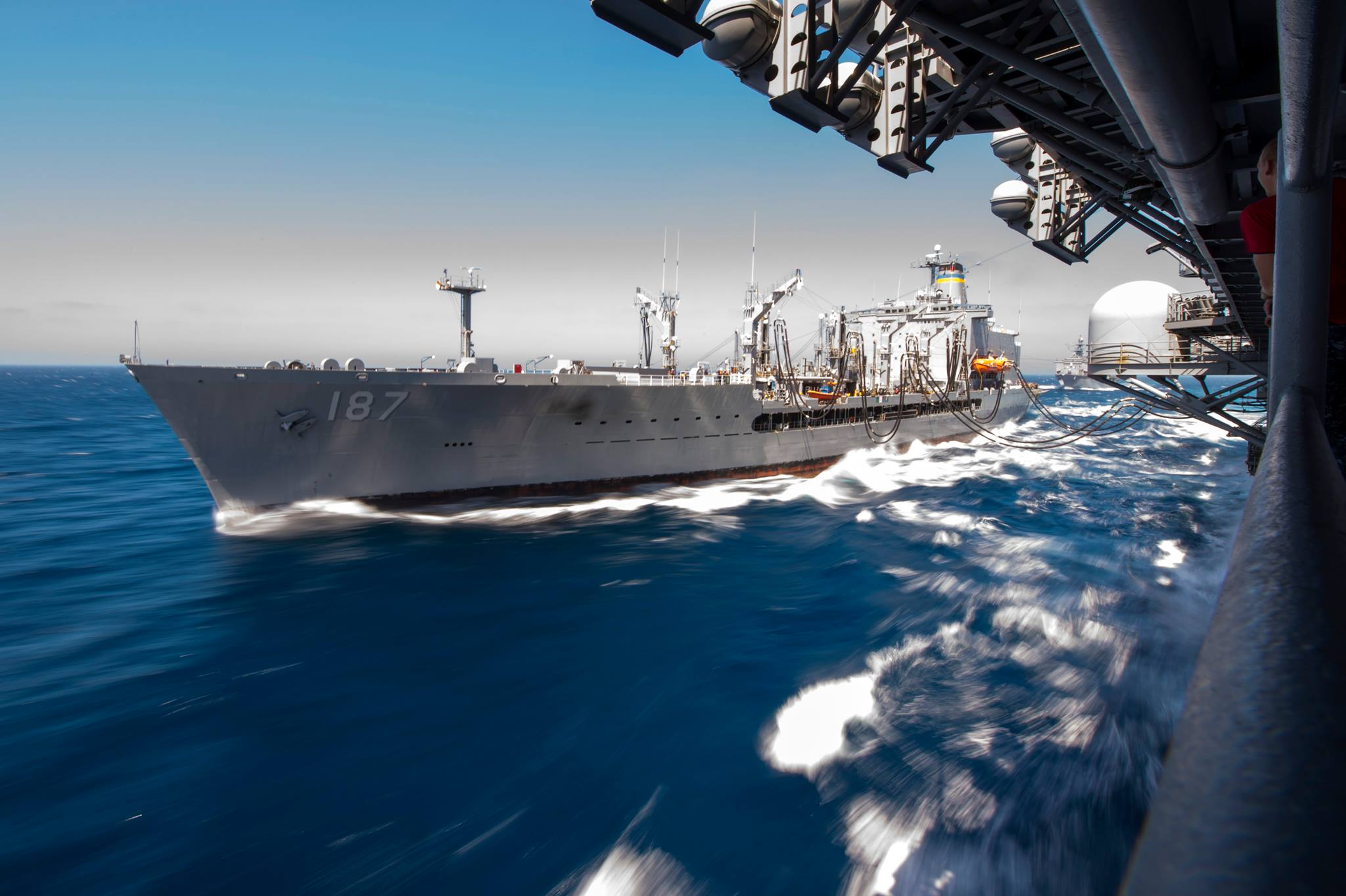 Fleet replenishment ship