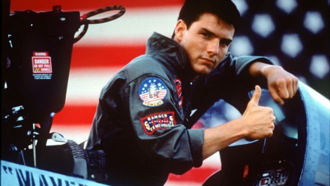 Tom Cruise in Top Gun. Photo: Paramount.